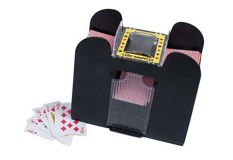 Six Deck Automatic Card Shuffler Deck Cards Man Cave Room