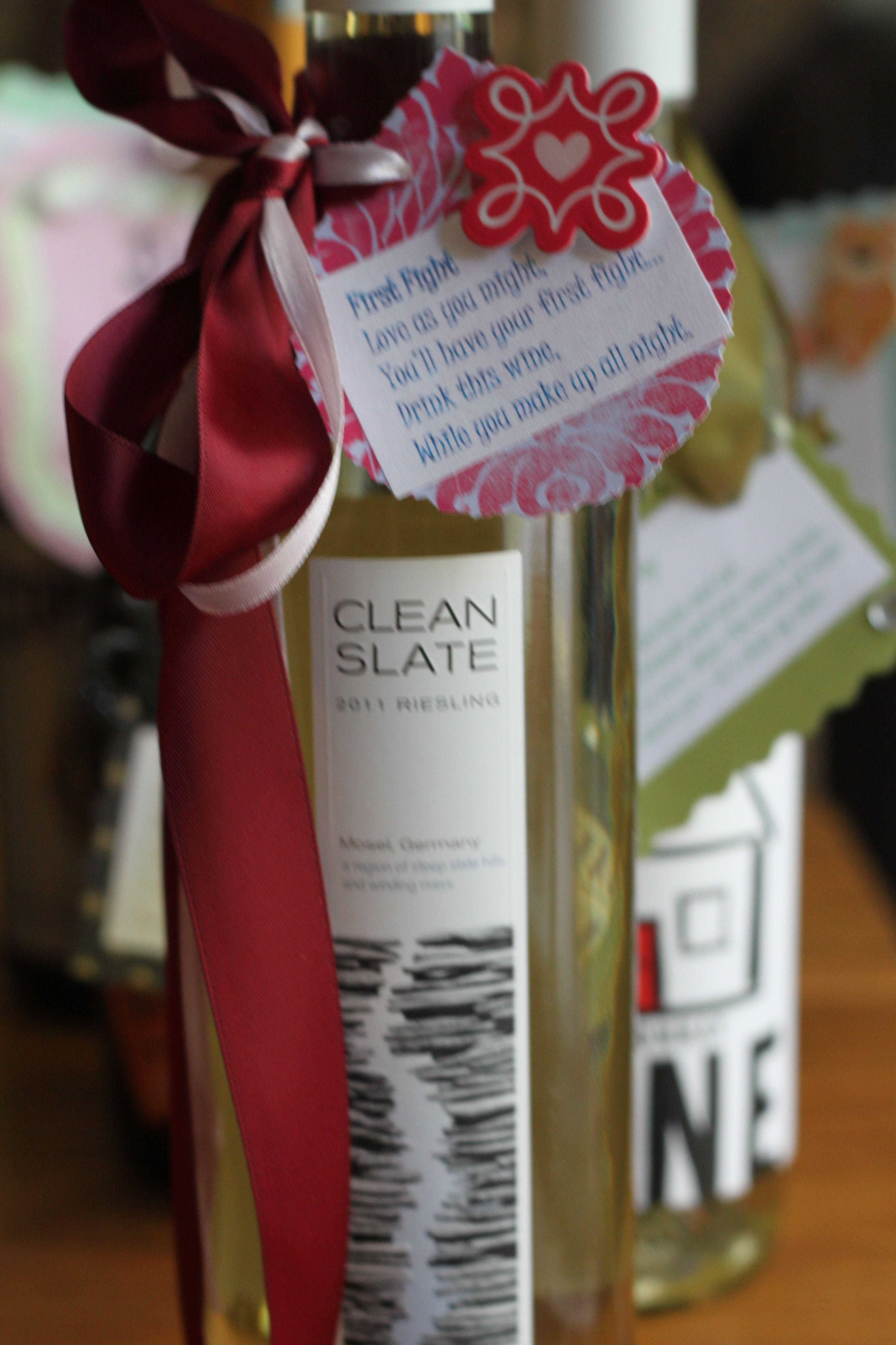 Bridal Shower Gift Milestone Wine Poem Basket Create An Adorable Poem Tag Bridal Shower Wine Bridal Shower Wine Basket Milestone Wine Basket Bridal Showers