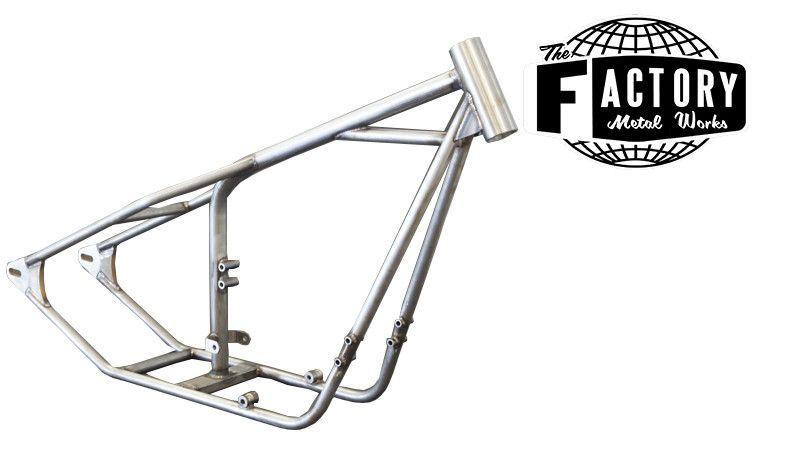 Yamaha XS 650 Full Hardtail Frame For Bobber & Choppper Motorcycles ...