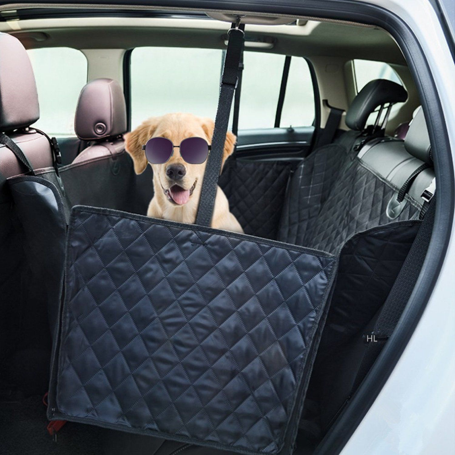 cover black in to car style click seat hammock expand p dog save for