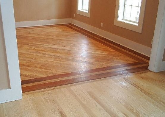 Different wood floors in house with different installation ...