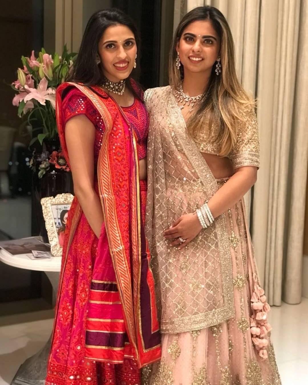 19ac808f3f Isha Ambani | Shloka Mehta | Sabyasachi Nita Ambani, Ethenic Wear,  Bollywood Wedding,