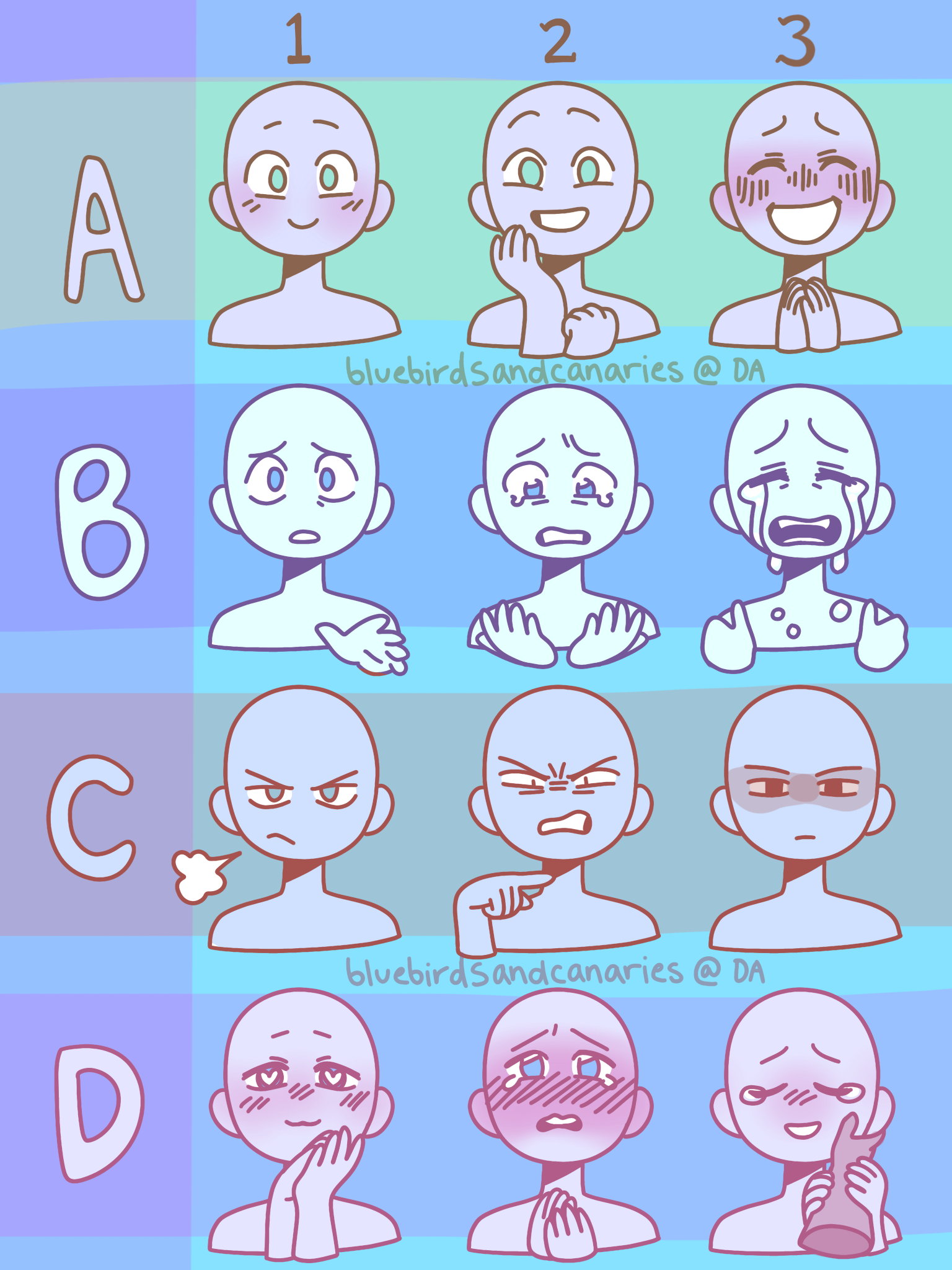 We Back With Them Expressions Boiz By Bluebirdsandcanaries Drawing Expressions Drawing Face Expressions Art Reference Poses