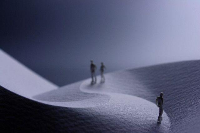 """Curved Fold Dune"", 2009 | by Prof. Yoshinobu Miyamoto"