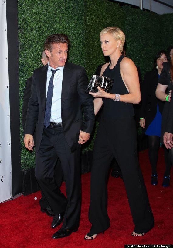 Sean Penn and Charlize Theron, now we're talking about some serious brilliant match in celebrity history couples.