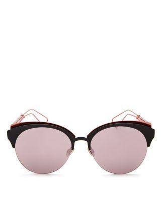 295151621878 DIOR Diorama Mirrored Round Sunglasses