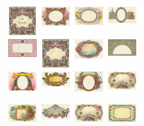 The Jones Victorian Estate: Vintage Printable Labels AND they are Free!!