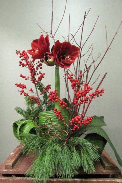 Pour vos envois de fleurs l 39 occasion de no l et jour de for Envois fleurs