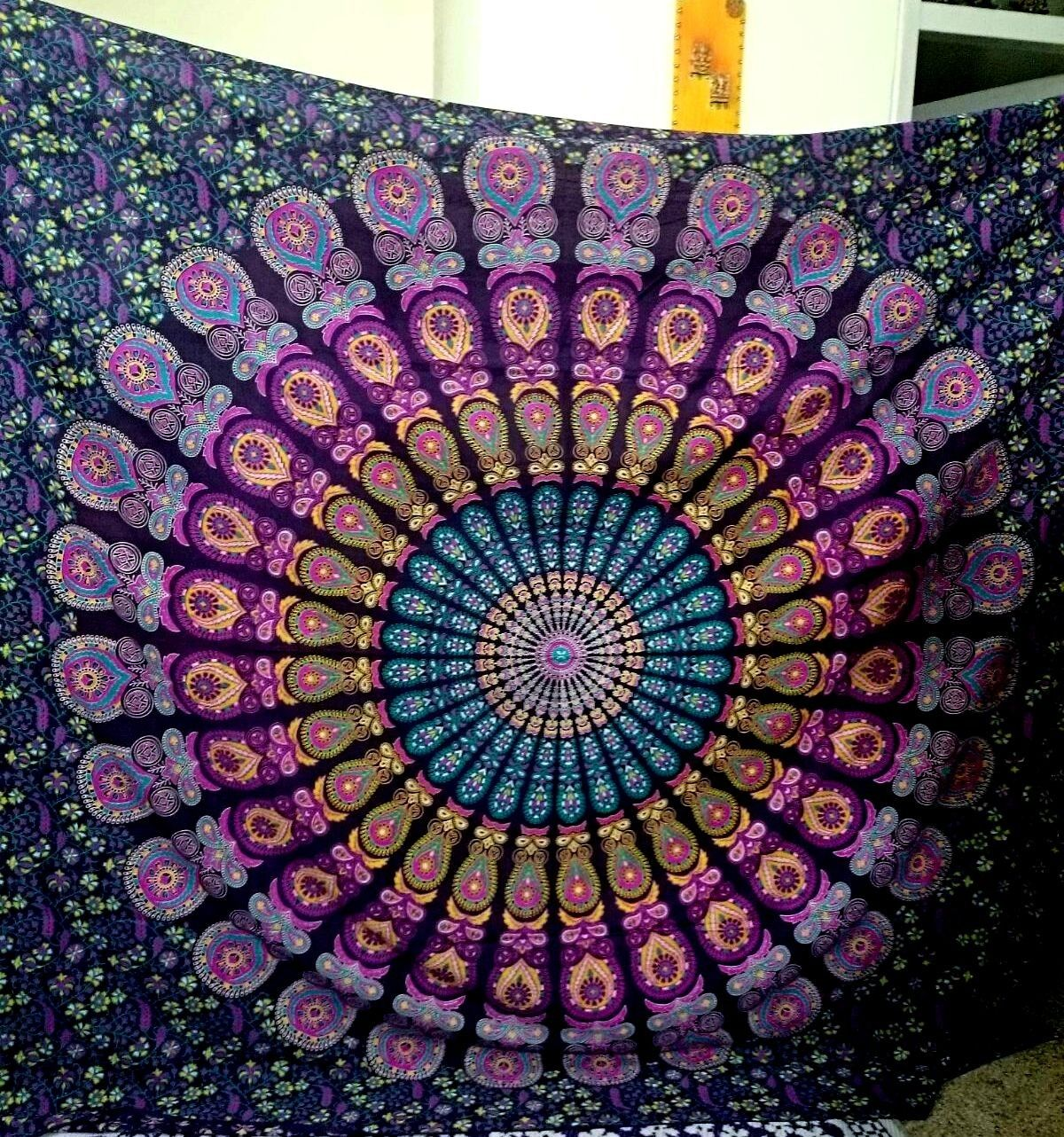 Large Tapestry Wall Hangings paradise large tapestry | tapestry wall hanging, mandala tapestry