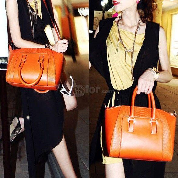 New Women Handbag Hobo Shoulder Bag PU Leather Satchel Cross Body Tote , unit price of $17.62 only - Yesfor.com