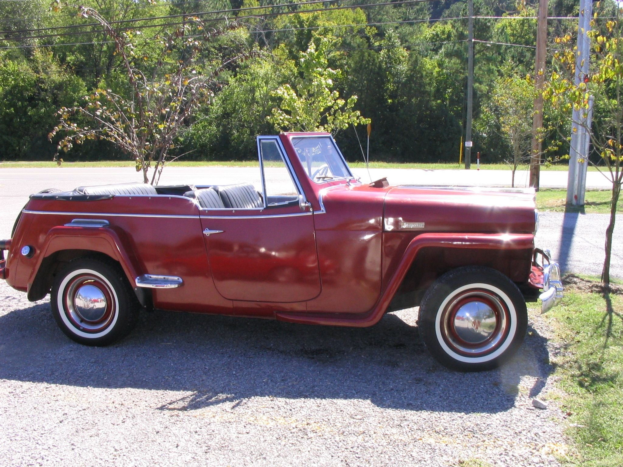 Jeep S Old Grand Stuff Jeepster