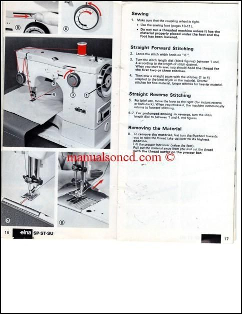 Elna Sewing Machine Manual For Star Series Simple Elna 9000 Sewing Machine