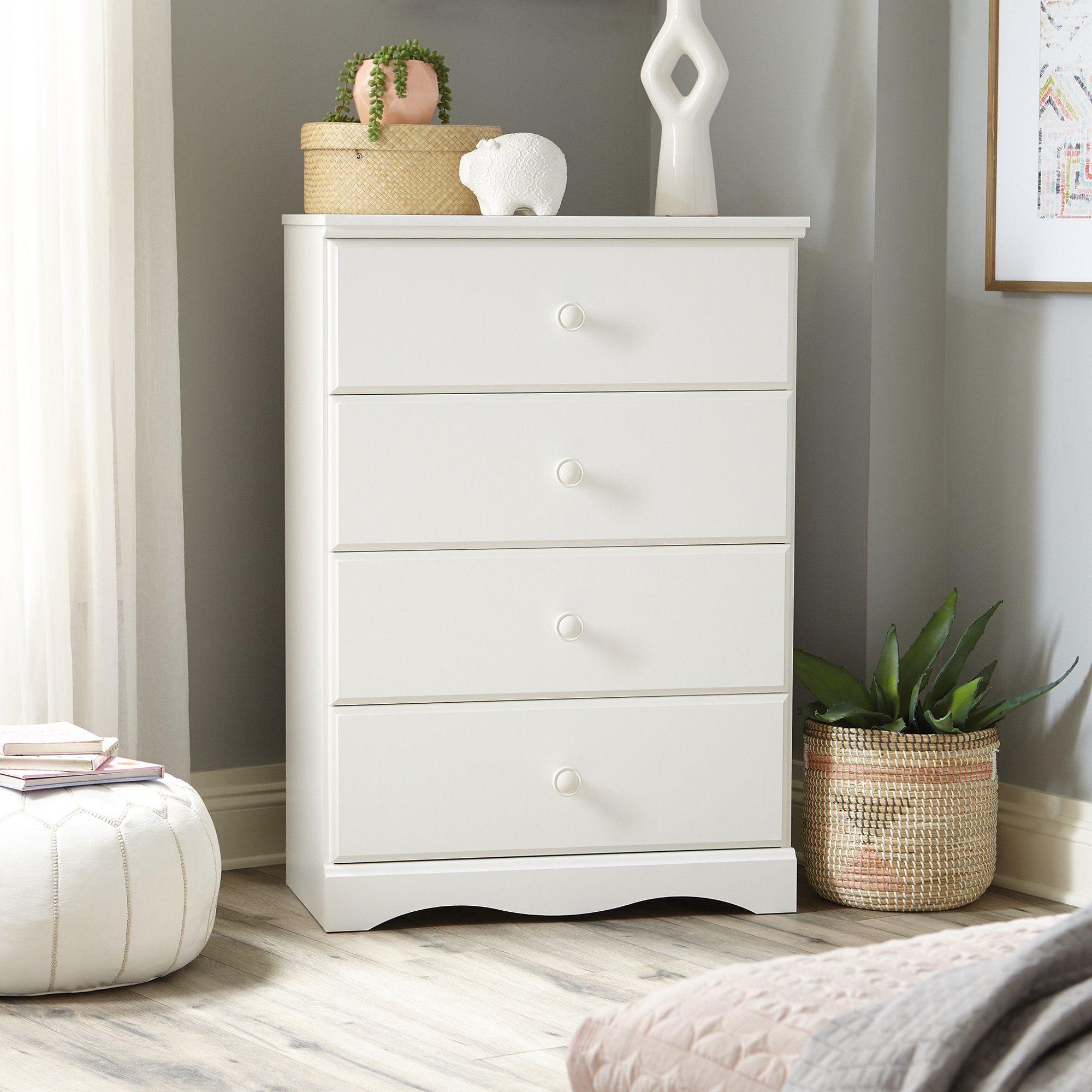Sauder Storybook 4 Drawer Dresser Soft White Walmart Com 4 Drawer Dresser Modern Storage Furniture Furniture [ 2000 x 2000 Pixel ]