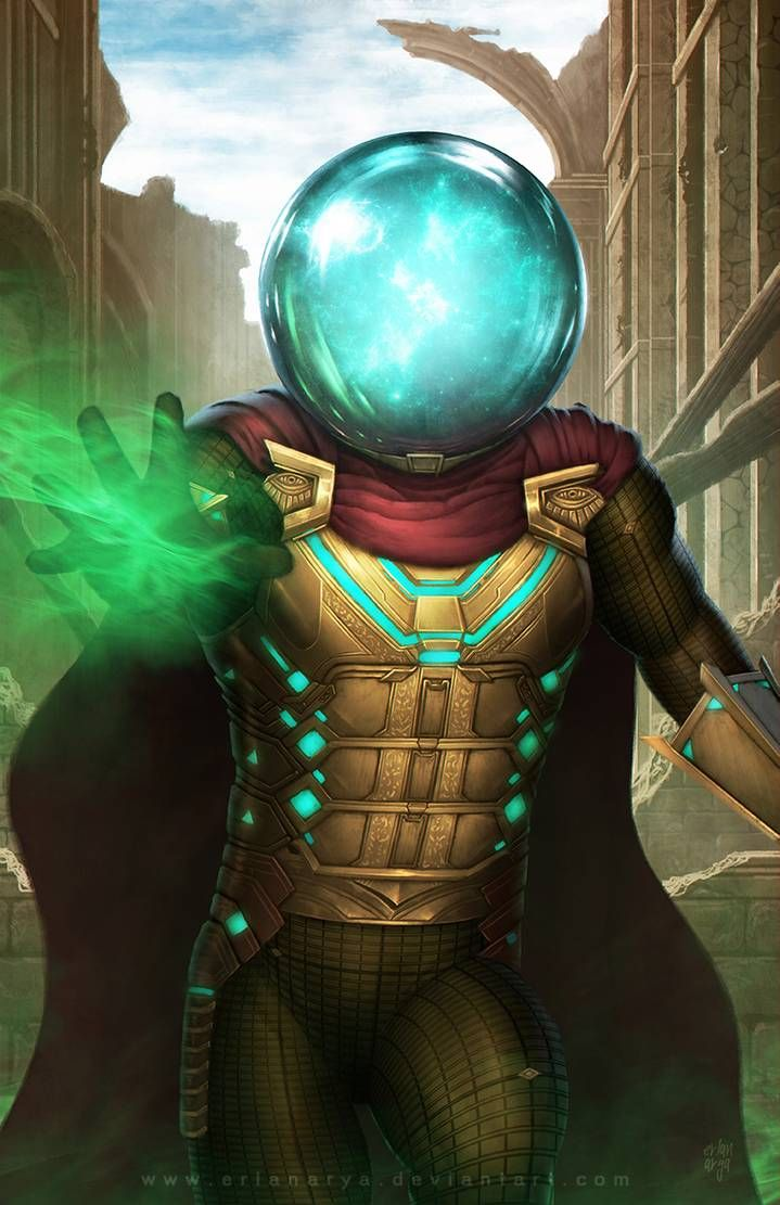 Mysterio by erlanarya on DeviantArt