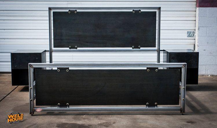 Custom LUXE Bed Frame | Lápiz, Rústico y Principales