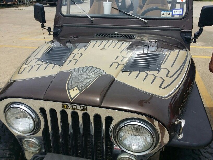 Golden Eagle Vintage Jeep Jeep Cj Jeep Cj7