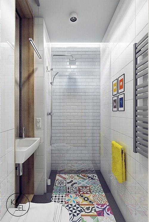 Baños Con Azulejos Hidráulicos Inspiración Decia Es Pinterest Small Bathroom Tile Flooring And Future