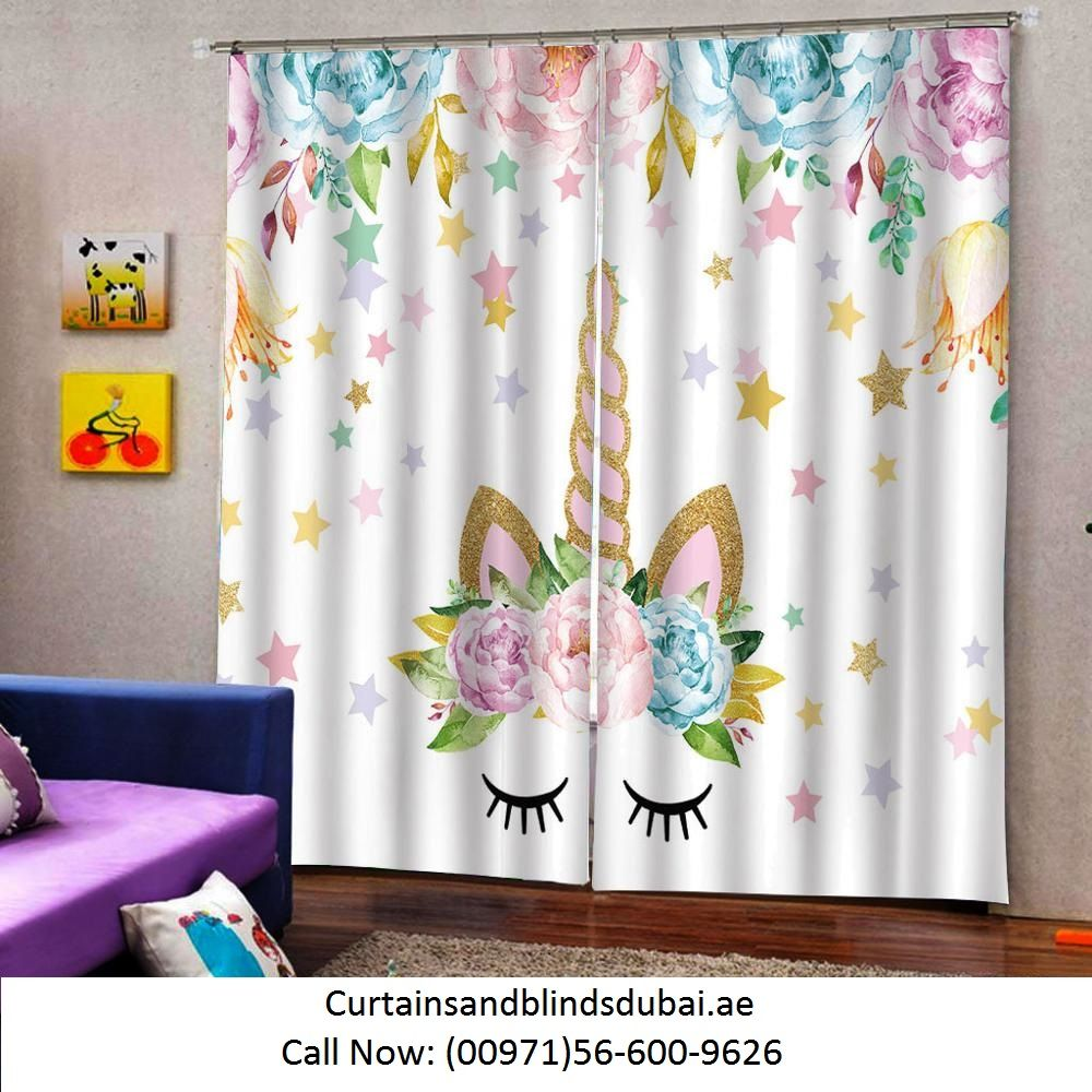 Curtains for kid's Room Dubai Abu Dhabi, Al Ain & UAE in