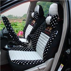 Beautiful And Cute Roung Dot Style Custom-Fit Five Car Seat Cover ...