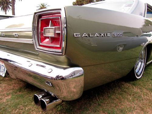 1966 Ford Galaxie, my mom had a 1965 Ford Galaxie, similar to the '66 but, the tail lights were larger on the '65.