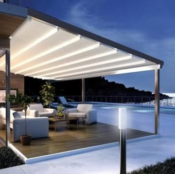 Swell Retractable Pergola Awnings Galleries Ozsun Shade Home Interior And Landscaping Oversignezvosmurscom