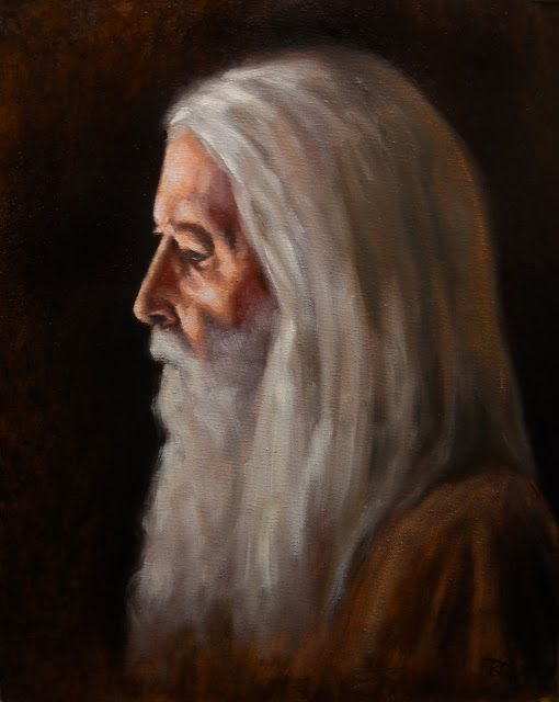 Ryan Delgado Art: The Wise Old Man