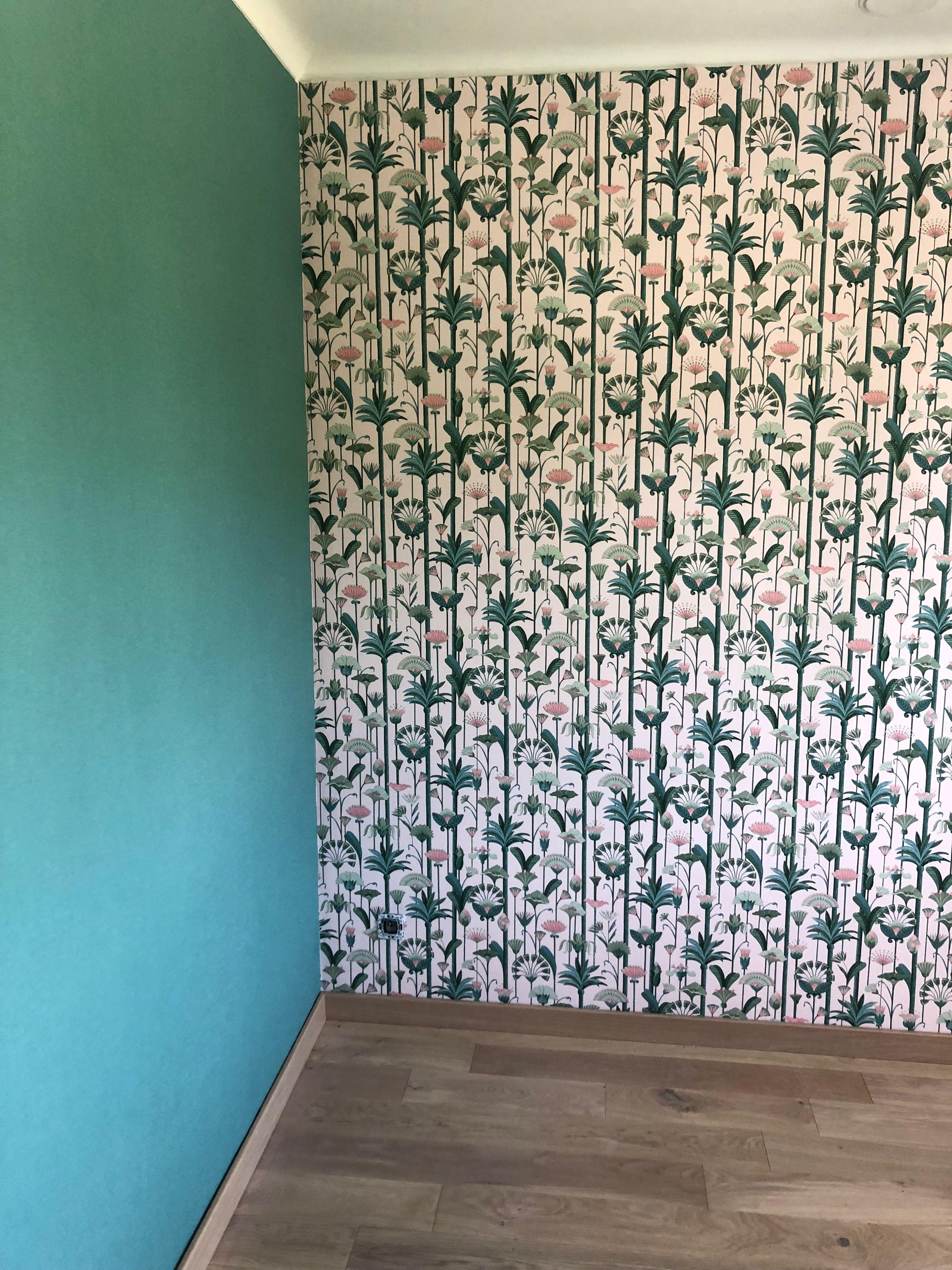 Papier Peint Vert Sauge 4 Murs Papier Peint Graphique Rose Vert 4 Murs Parquet Panaget Chene Bois Flo Papier Peint Papier Peint Vert Papier Peint Graphique