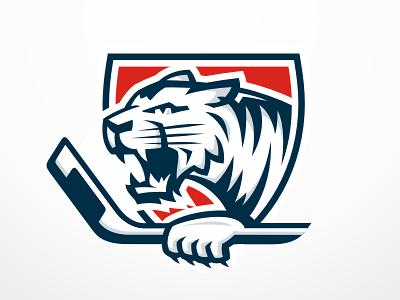 White Tigers Sports Logo Design White Tiger Tiger Logo