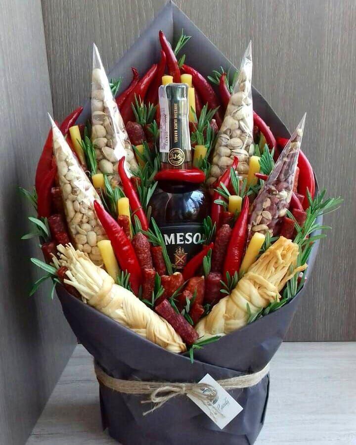 Мужской букет своими руками фото, букет цветов