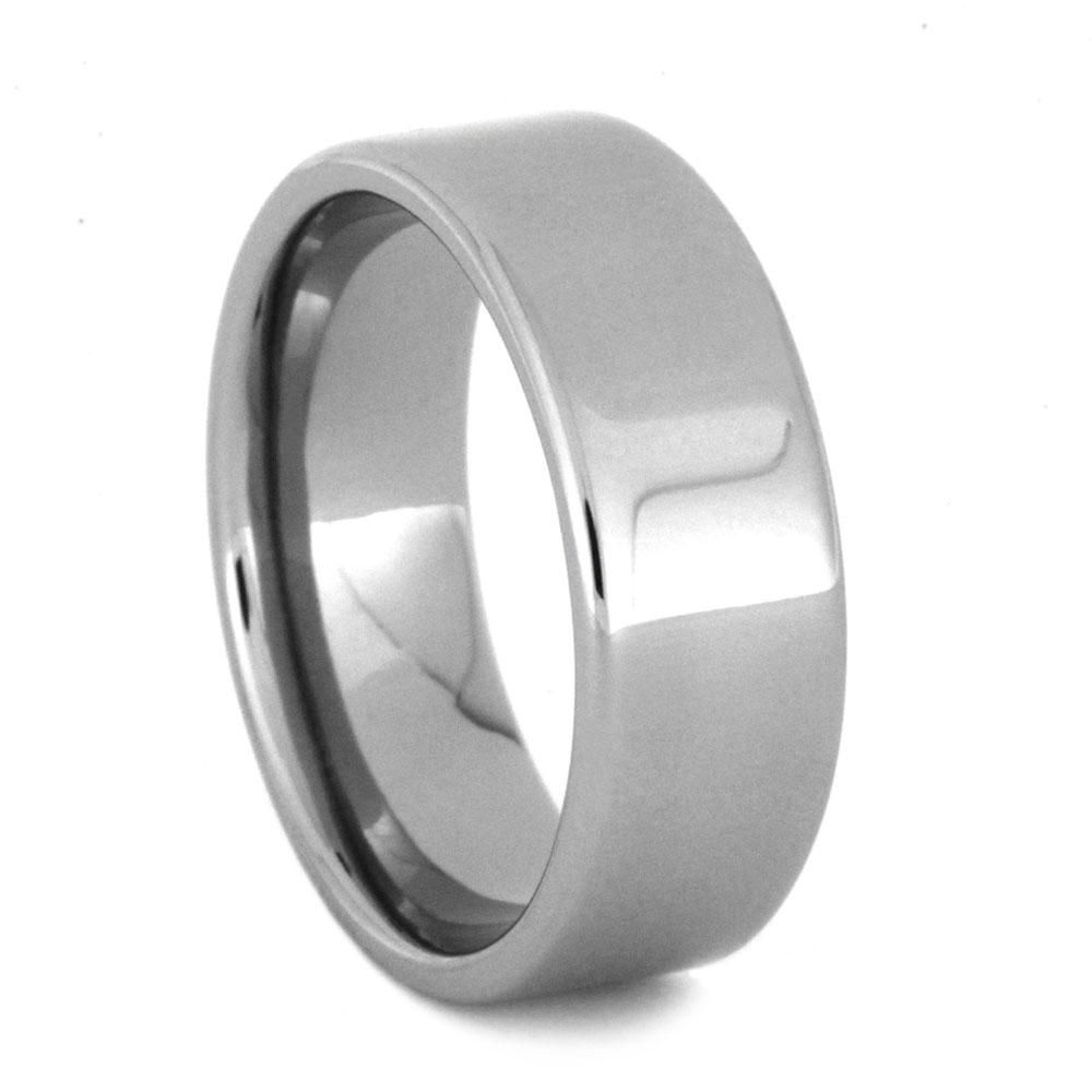 Stainless Steel Wedding Band Polished Steel Ring 3201 In 2020 Stainless Steel Wedding Bands Steel Ring Stainless Steel Rings