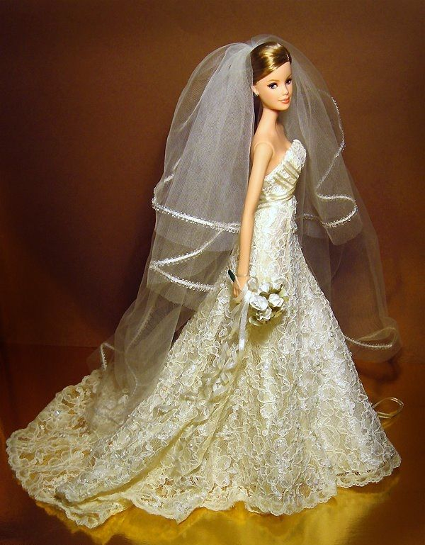 Barbie Wedding Gown HD Wallpapers Free Download | BRIDAL DOLLS ...