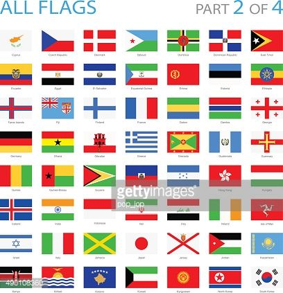 a391567dc46a Full Collection of World Flags in Alphabetical Order