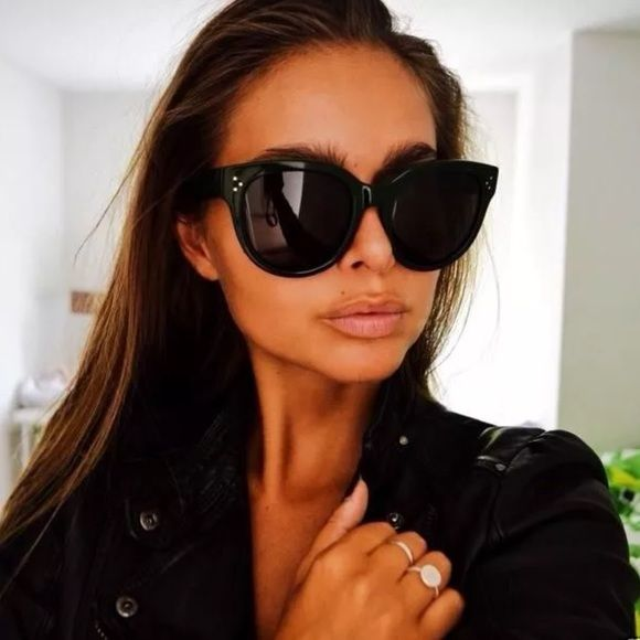 3b52b7b0a13 Audrey oversized vintage big sunglasses Designer inspired wayfarers ! These  are sexy! Must have Celine Accessories Sunglasses