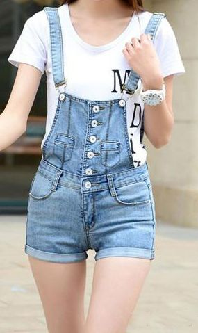 Women Jeans Shorts // Perfect for summer !
