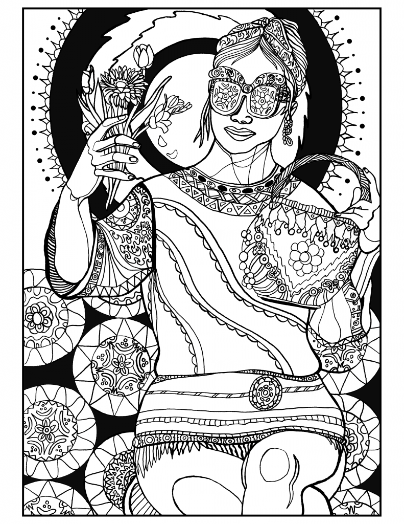 Boho beauty. | Adult Coloring Pages | Pinterest | Colorear y Beautiful