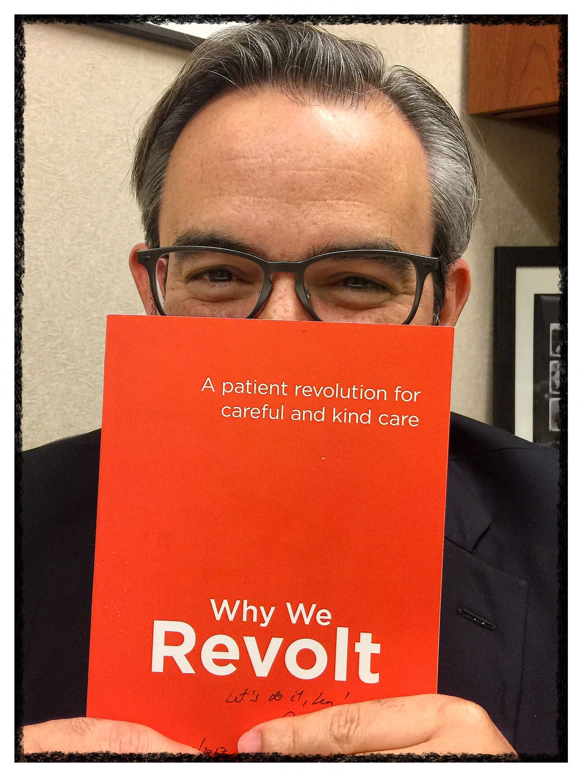 Having a conversation with Victor Montori you can almost