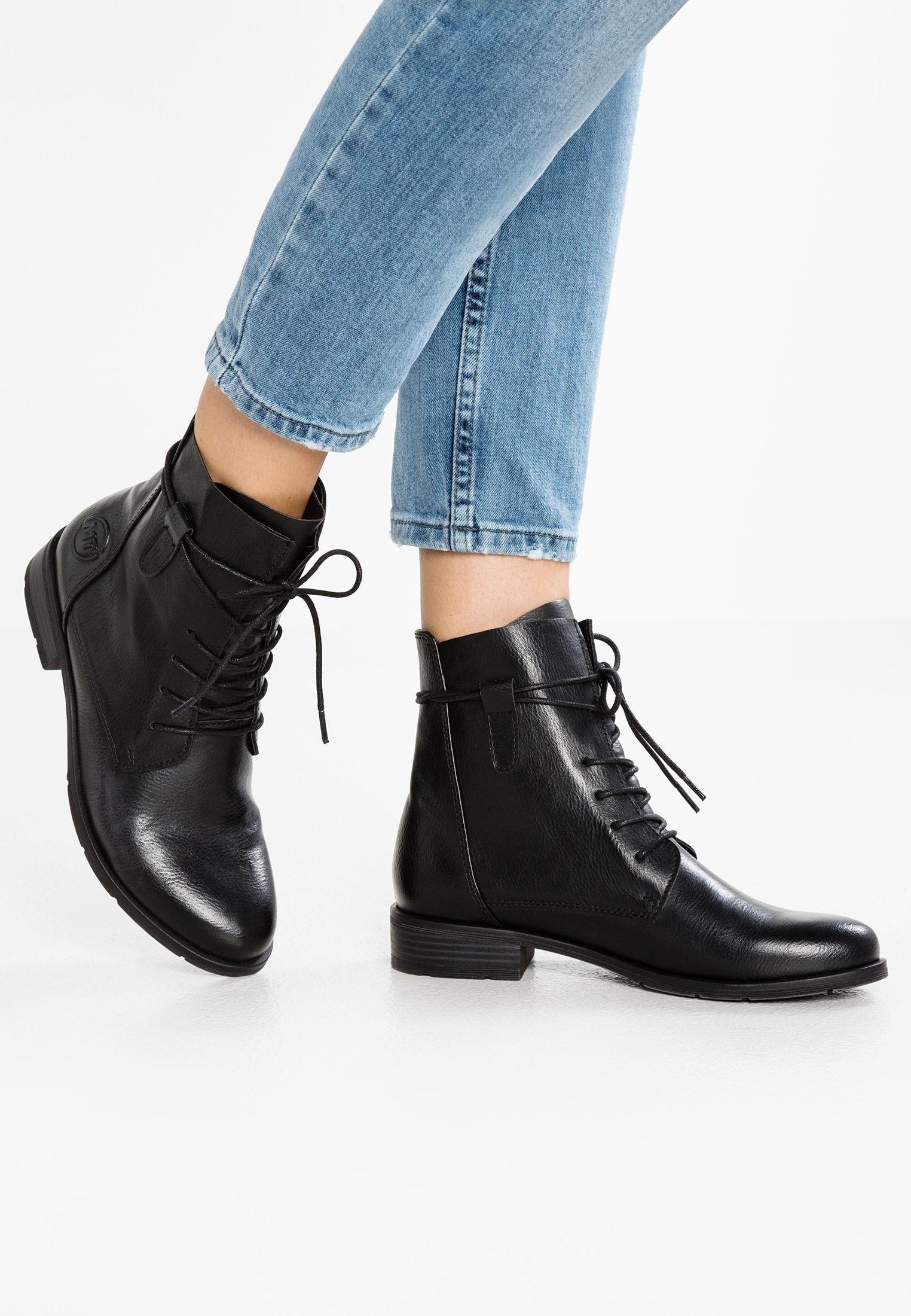 Lace up ankle boots black antic @ Zalando.co.uk | Lace
