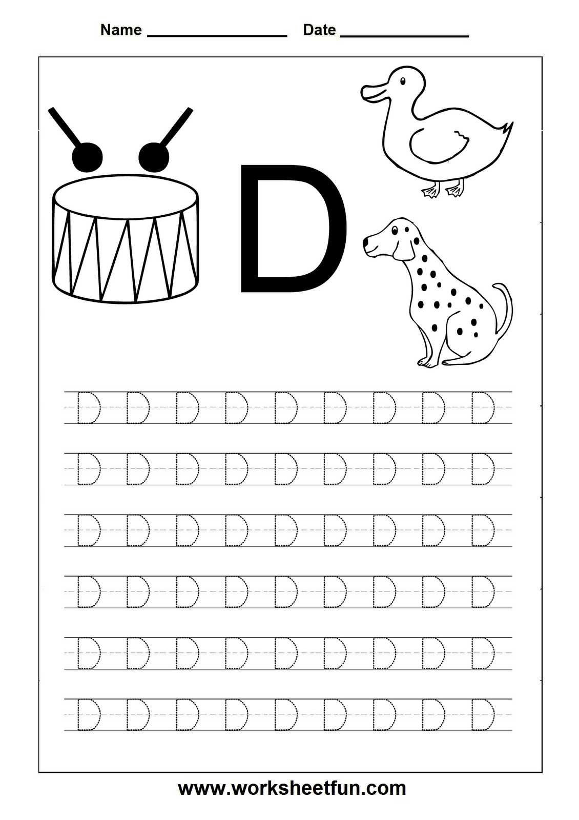letter d worksheets HD Wallpapers Download Free letter d ...