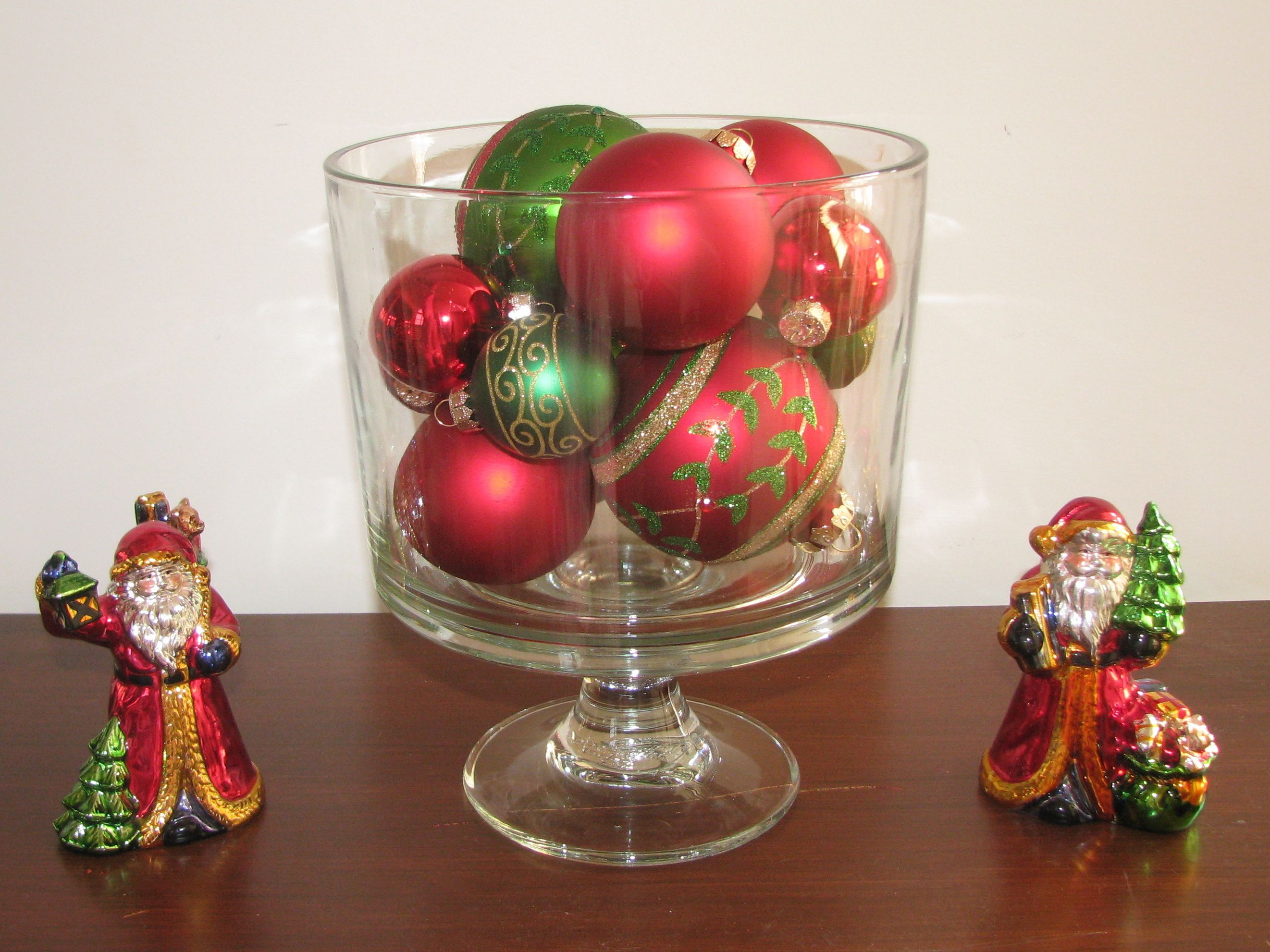 Idea for pampered chef trifle bowl elegant christmas decorations