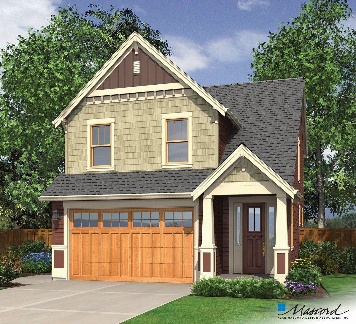 Mascord House Plan 2174b The Monroe House Plans Craftsman House Plans Craftsman Style House Plans