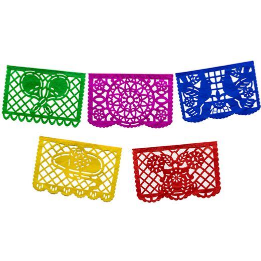 Medium Paper Picado Banner Multicolor Papel Picado Banner Mexican Party Supplies Papel Picado