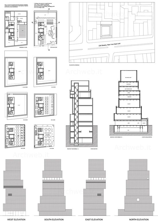 New Museum of Contemporary Art in New York ARCHI - drawing - new aia final completion