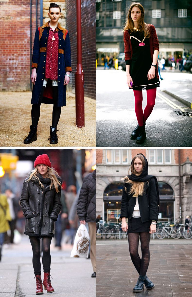 Dr Martens Street Style How To Wear Collage Vintage 7 Jpg 790 1221 Dr Martens Style Martens Style Doc Martens Style