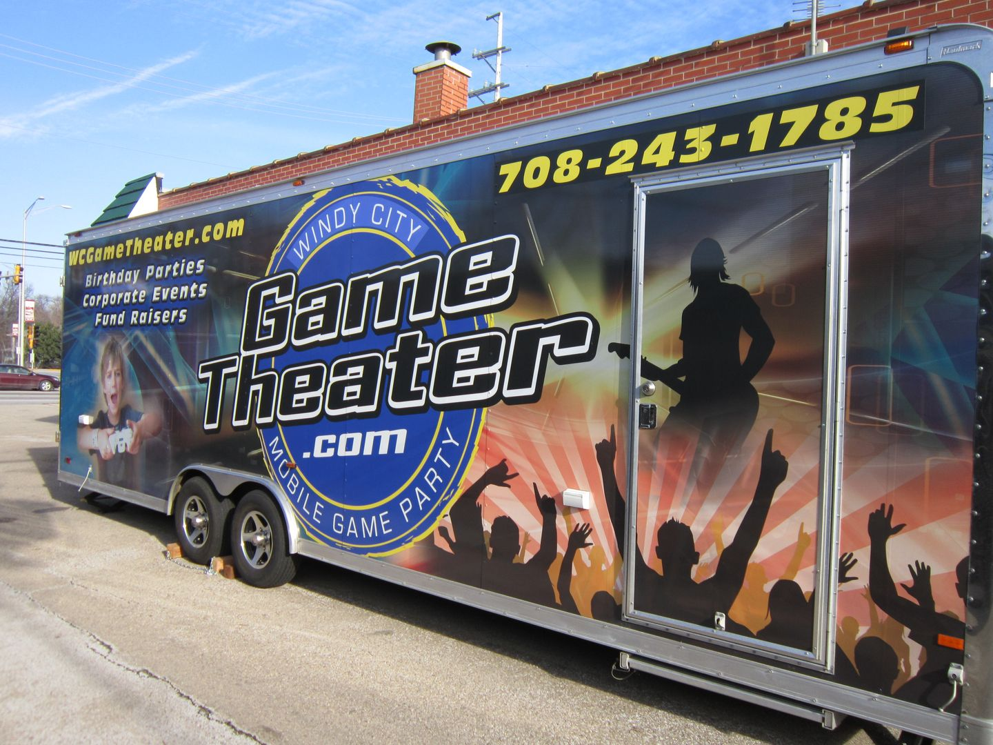 Windy city game theater video game truck kids birthday party birthday party places