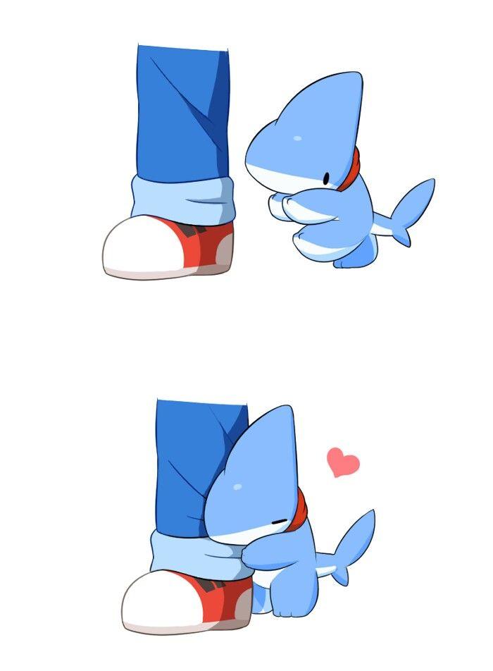 To Cute Tierno Pinterest Tiburones Fondo Kawaii Y Kawaii