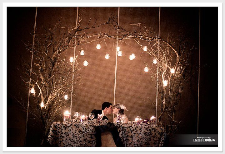 Decoración de Mesas de novios... ~ Wedding Planner ¡WOW QUE BODA!