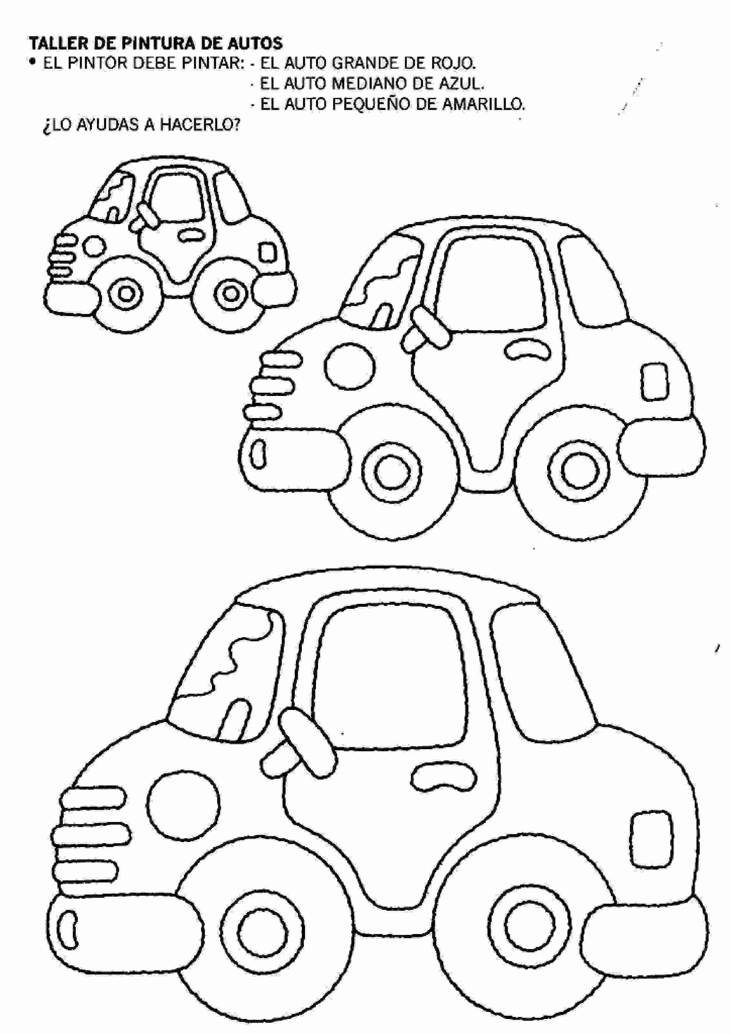 Fichas Para Imprimir Para Niños Relacionar Y Pintar 33 Actividades Para Niños Preescolar Niños De Preescolar Actividades Para Niños