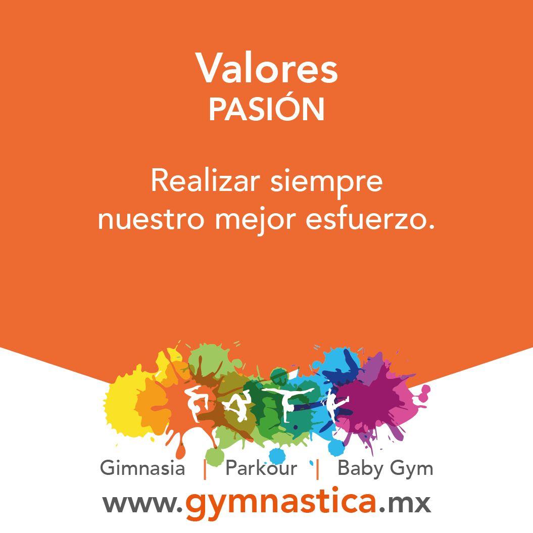 """""""La pasión llevará a los hombres más allá de ellos, de sus limitaciones y de sus fracasos."""" -Joseph Campbell  #ValoresGymnastica #Gimnasia #Parkour #BabyGym"""