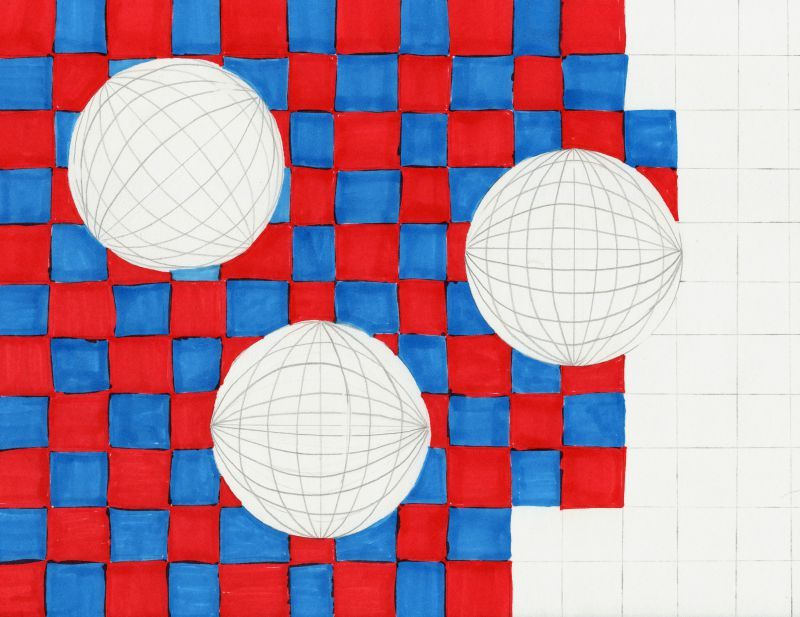 Cool Op Art Sphere Drawings Met Afbeeldingen