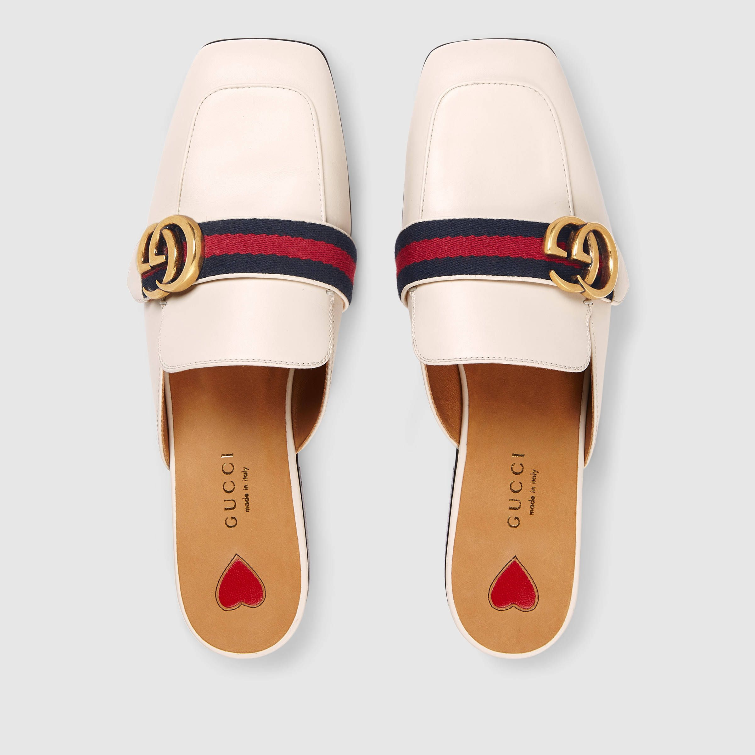 Gucci Leather slipper   Leather shoes